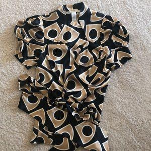 Diane Von Furstenberg Tops - Diane von Furstenberg Wrap blouse